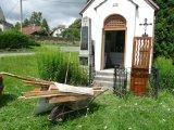 Oprava kapličky červenec 2012