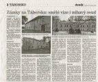 článek o Meziříčském zámku