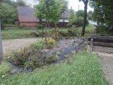 opadávání vody park