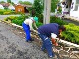 stavění májky